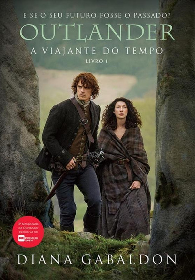 Outlander - A Viajante Do Tempo - Livro 1 - Capa Serie - Arq