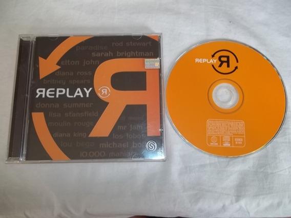 Cd - Replay - Elton John Diana Ross Britney Spears