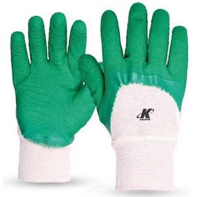 Luva Kalipso Confortex Plus, Tamanho Xg - Verde E Branco