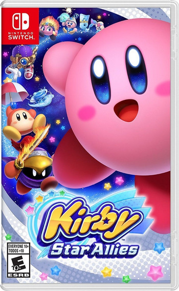 Kirby Star Allies - Switch - Midia Fisica