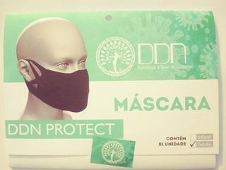 Kit Com 10 Mascara Ddn Protect Com Trat. Antibactericida