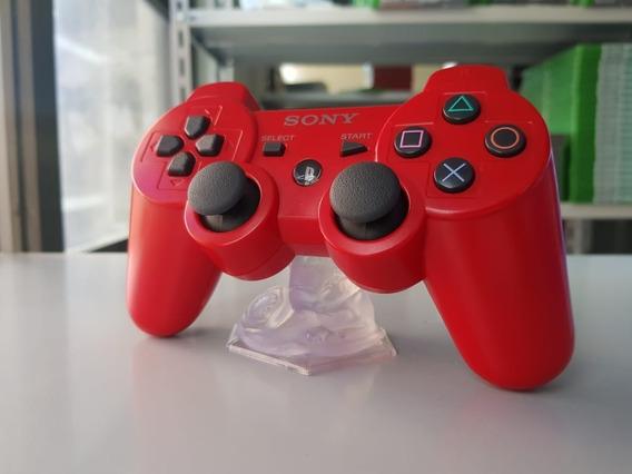 Controle Dualshock 3 - Ps3 - Vermelho - Edição Limitada
