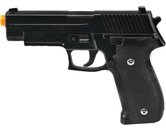 Pistola De Airsoft Spring G26 Sig Sauer P226 Full Metal 6mm - Galaxy