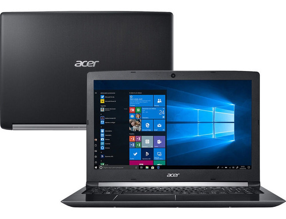 Notebook Acer I5 Ci57200u 4gb 1tb Wind 10 Pro A515-51-58dg