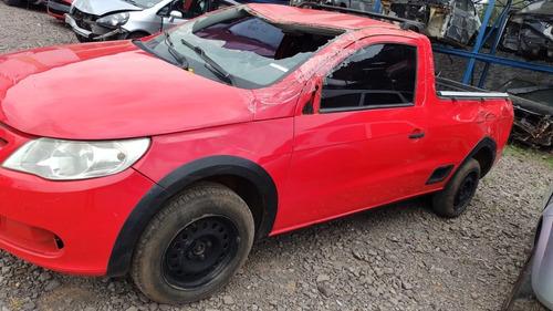 Imagem 1 de 9 de Sucata Volkswagen Saveiro 16 2011/2012 Flex