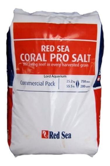 Sal Marinho Red Sea Coral Pro 25,2 Kg Saco Prepara 750l