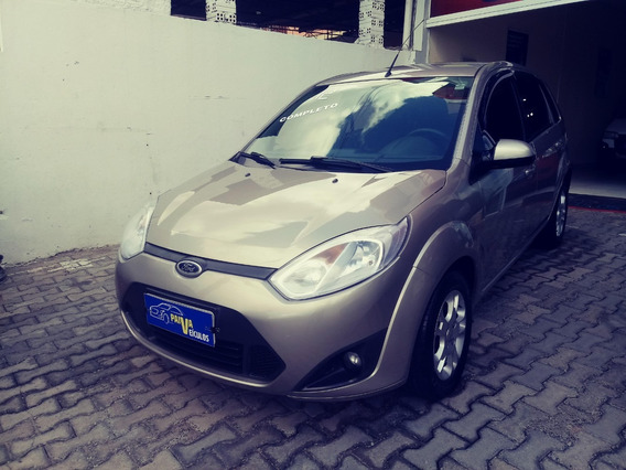 Ford Fiesta 1.6 Ano 2012 Completo + Bco. Couro Impecável
