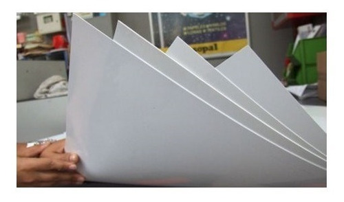 Imagen 1 de 3 de Planchas De Pvc Sintra 3mm Plancha De Pvc Cintra 1.22 X 2.44