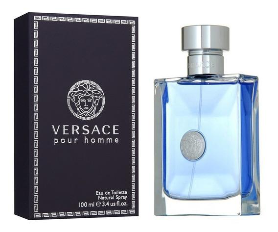 Versace Pour Homme 100ml Original E Lacrado Eau De Toilette