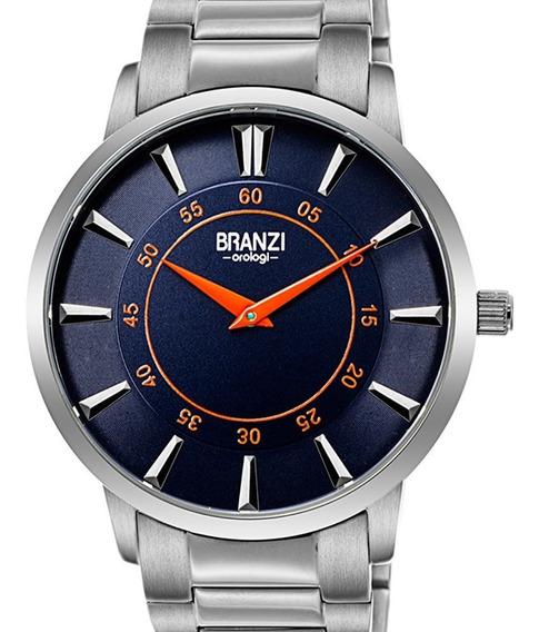 Reloj Hombre Branzi By Citizen 21030 Cuarzo Caratula Azul