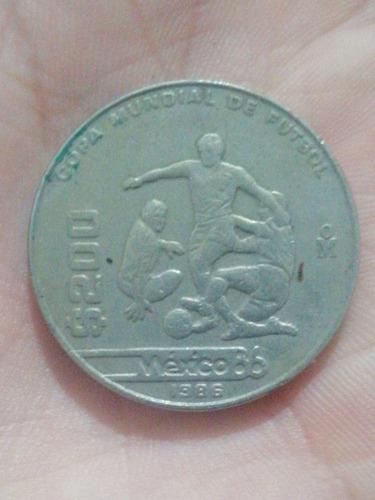 Imagen 1 de 1 de Moneda $200 Pesos Edición Mundial Año 1986