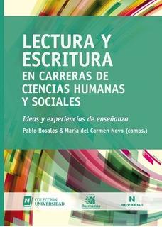 Lectura Y Escritura En Carreras De Cs Humanas Y Sociales