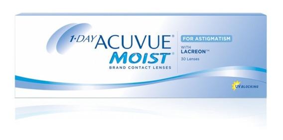 Lentes De Contacto Acuvue 1-day Moist - Óptica Florida