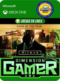 Hitman Goty - Xbox One - Modo Local + En Linea