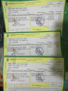 Patentes De Alchol Y Cervecería La Cisterna