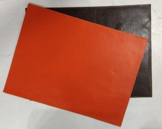 Individual Premium Mantel Ecocuero Reversible Colors Palermo