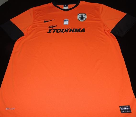 Camisa Paok Home 2014 Tam. P Original