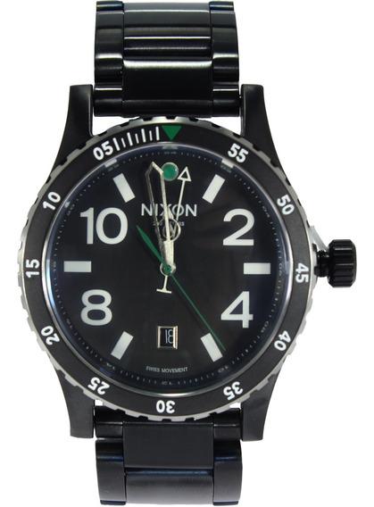 Relógio Nixon Diplomat Ss Original - Preto/prata