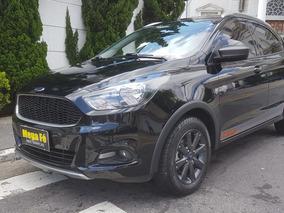 Ford Ka 1.0 Trail Flex 5p 2018 Preto Completo