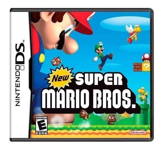 New Super Mario Bros Ds - 100% Completo