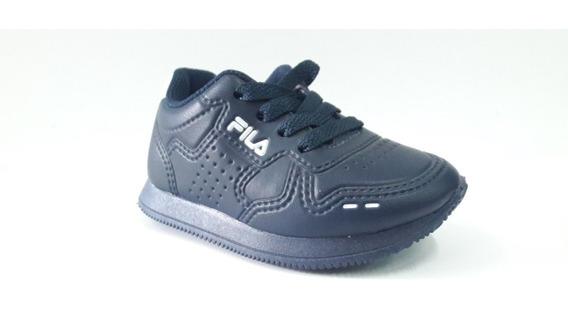 Zapatillas Fila Classic 92 Baby Azul Envíos A Todo El País