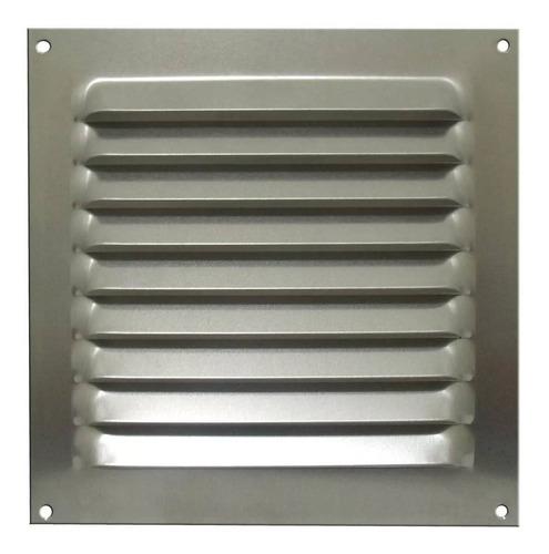 Grade De Ventilação Quadrada De Alumínio Itc 20x20 Cm