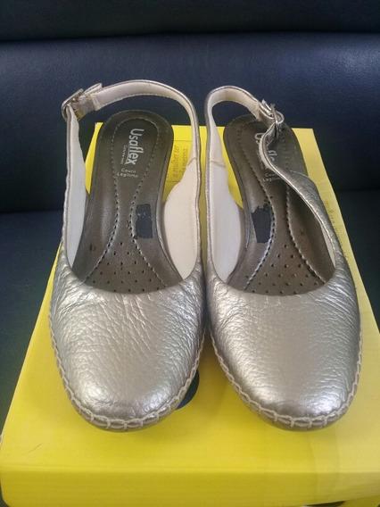 Scarpin Usaflex Sapato Salto Calçado Feminino