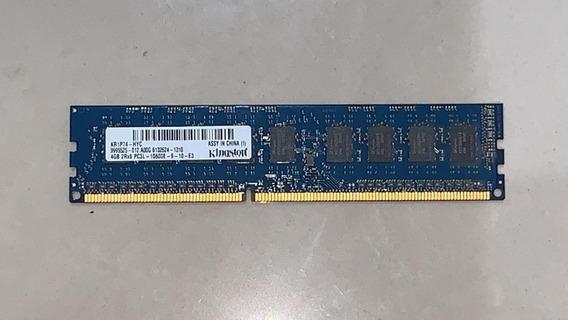Memoria Kingston Ecc Pc3l-10600e 4gb Ddr3 9-10-e3 2r8