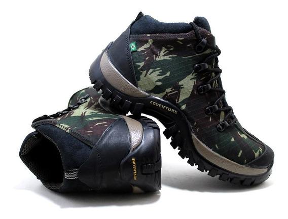 Tênis But Camuflado Boot Masculino Feminina Trilha Trekking