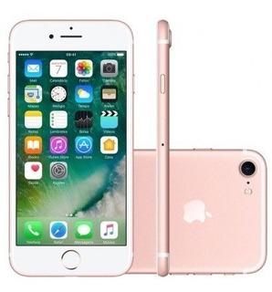 iPhone 7 32gb Rosa 4g Modelo A1778 Anatel - Novo Lacrado