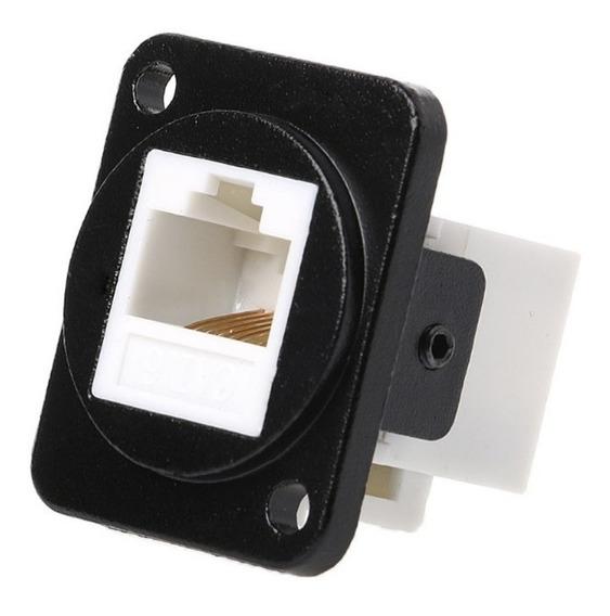 Adaptador Plug Rj45 Para Painel Cat6 Fêmea-fêmea *900601
