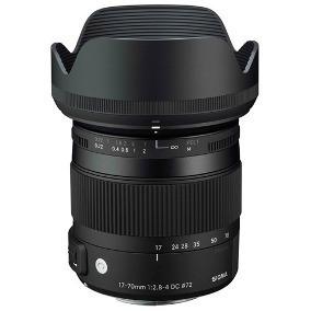 Lente Sigma 17/70mm F2.8 Para Nikon