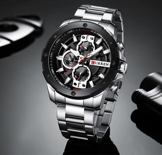 Relógio Curren 8336 Modelo 2019 Lançamento Importado
