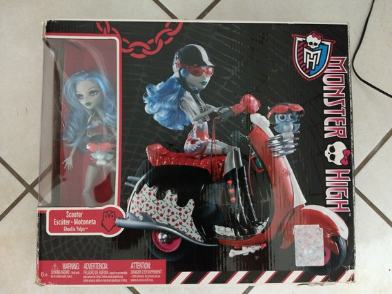 Monster High Ghoulia Moto