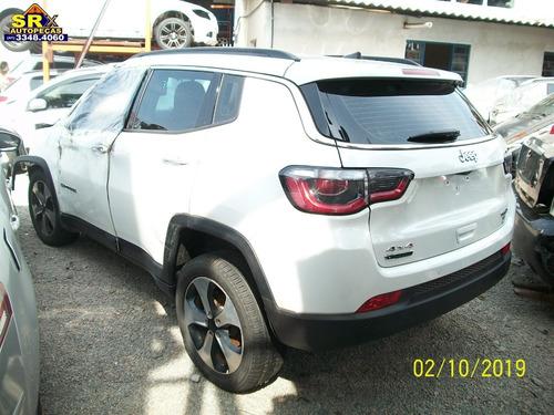 Sucata Compass Long 2.0 16v 4x4 Aut Diesel 2018 Motor Peças