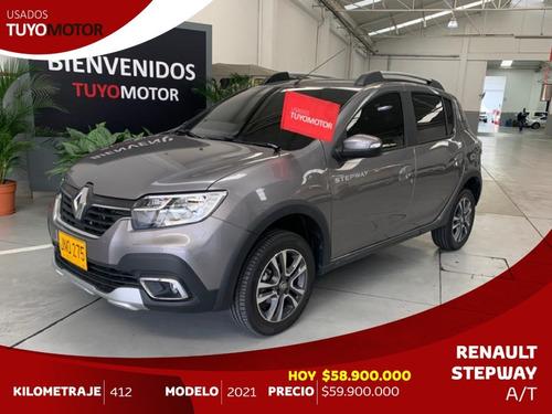 Renault Stepway Intens A/t Mod 2021 Full Equipo - Casi Nuevo