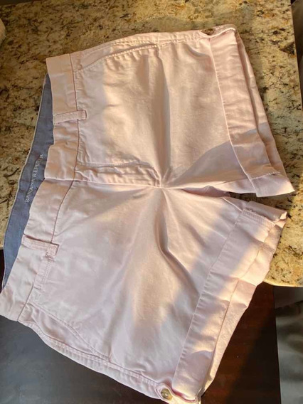 Short Rosa Banana Republic Talla 10