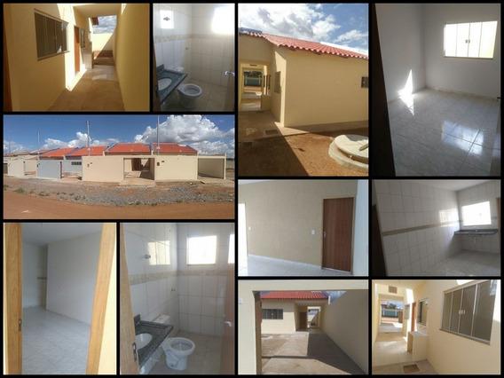 Casa Nova 2qts - Jardim Boa Esperança