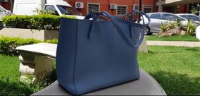 Bolsa Tory Burch Azul Original Sem Marcas