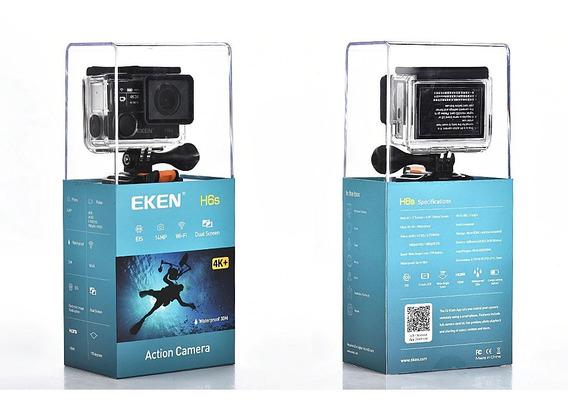 Eken H6s Nova 32gb Wifi Fullhd 4k Com Controle C/ Acessórios
