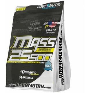 Mass 25500 Creatine - 3000g Refil Chocolate - Body Nutry
