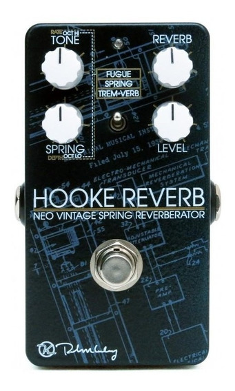Pedal Keeley Hooke Reverb - Futuristic Spring Reverb C/ Nfe