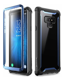 Funda Case Con Mica Galaxy Note 9 I-blason Ares Azul