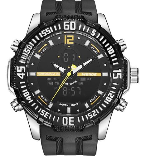 Relógio Masculino Weide Anadigi 10556