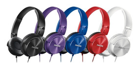 Headphone Philips Estilo Dj Bass Shl 3060 + Nota Fiscal