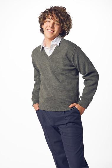 Sweater Ev Varios Colores Colegial