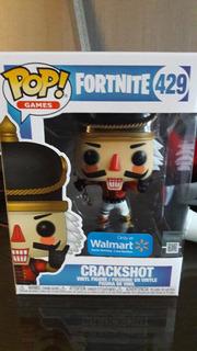 Figura Funko Pop Fornite Crackshot Walmart Exclusivo