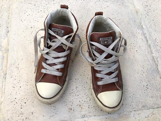 Zapatillas Converse Cuero Botas Talle 39-40 Importadas