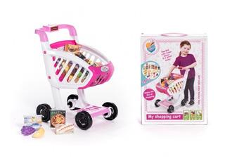 Juguetes Para Nena/e Carrito De Compras Supermercado +3 Años