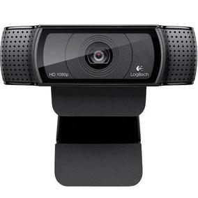 Câmera Web Cam Logitech C920 Full Hd 1080p Com Microfone
